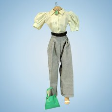 Vintage Madame Alexander Cissy Size Pants & Blouse Set, 1950's