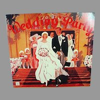 Vintage 1936 The Wedding Party Paper Dolls, 1991 Repro Set