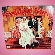 Vintage 1936 The Wedding Party Paper Dolls, 1991 Repro Set