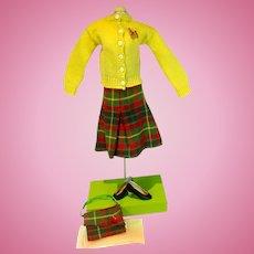 VIntage Madame Alexander Cissy Size Sweater & Skirt Set, 1950's