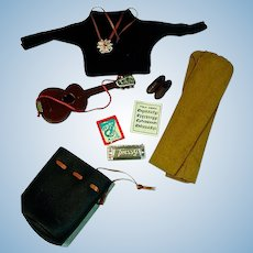 Vintage, American Character Tressy Outfit, Hootenany, 1964