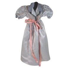Vintage 1950's Madame Alexander Cissy Size Satin Dressing Gown
