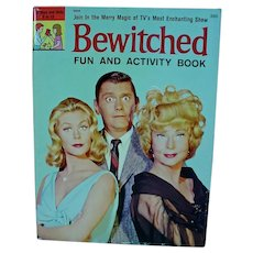 Bewitched TV Fun & Activity Book, 1965,