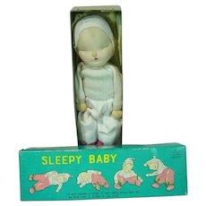MIB Shackman Sleepy Baby Doll, 1958