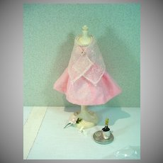 Vintage American Character Tressy Outfit, Pink Champagne, 1964