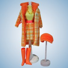 Original Vintage Barbie Outfit, Made For Each Other, 1969
