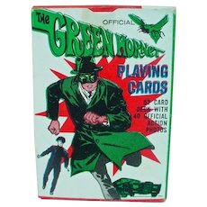 Vintage Mint Un-useds Green Hornet Playing Cards, 1966