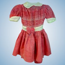Vintage 1950's Doll Party Dress, Lovely!