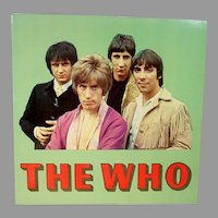 """The Who Orig. 1968 U.S. Tour Concert Program Book. """"The Who Sellout """""""
