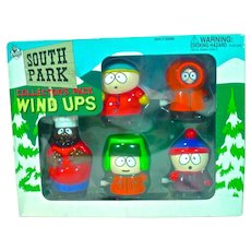 VIntage 1998 South Park Collector's Pack Wind-Ups, NRFB