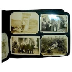 Vintage Photo Album, Over 200 Photo's, 1920's-1930's