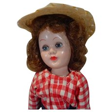 Charming Richwood Toys Sandra Sue Doll in Original Outfit, 1956