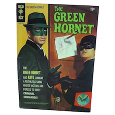 First Issue, 1966 The Green Hornet Comic Book, Gold Key Comics