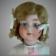 """27"""" Armand Marseille 390 Bisque Socket Head, Ball Jointed Body, 1890's"""