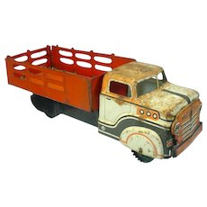 1930's Marx Flat Bed Tin Work Truck
