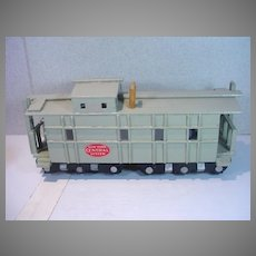 """Vintage Custom Assembled Replica of a 'New York Central System""""  1950's Caboose with Cupola"""