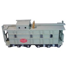 "Vintage Custom Assembled Replica of a 'New York Central System""  1950's Caboose with Cupola"