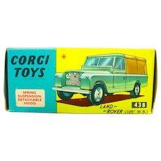 Vintage Corgi Toys Land Rover #438 with Box, 1968!