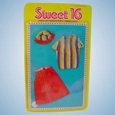 NRFC Mattel Barbie Sweet 16 Outfit, 1976