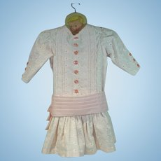Turn of the Century Style Repro Doll Dress, Charming