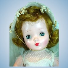 "Lovely Madame Alexander 18"" Wendy Bride Doll, 1956"