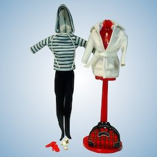 Vintage Mattel Barbie Outfit, Winter Holiday, 1960, Complete!
