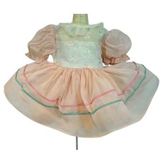 Vintage 1950's Doll Party Dress