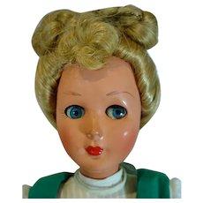 """1960'S, Bonomi 18"""", Jenny Doll, Made In Italy"""
