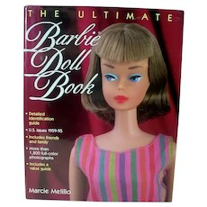 The Ultimate Barbie Doll Book by Marcie Melillo, 1996, Ist. Ed.