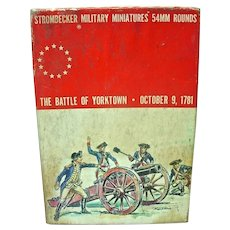 Vintage, Strombecker Military Minature, 'The Battle of Yorktown '