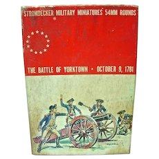Vintage, Strombecker Military Minature, 'The Battle of Yorktown '