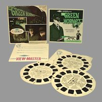 Vintage 1966 The Green Hornet View Master Set