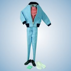 Mattel Vintage Ken Outfit, The Yachtsman, 1962, Complete