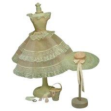 Vintage Mattel Plantation Belle Barbie Ensemble, 1959