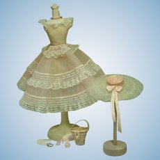 Vintage Mattel Plantation Belle Barbie Ensemble, 1959