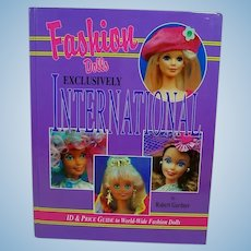 OOP Fashion Dolls Exclusively International, Robert Gardner,  Barbie etc. 1997