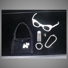 Collection of Vintage Madame Alexander Cissy Size Accessories, 1950's