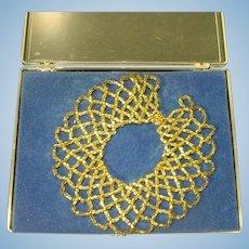 Vintage Madame Alexander Cissy Size Beaded Collar Necklace