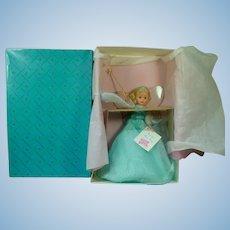 MIB Madame Alexander Blue Fairy Tree Topper Doll
