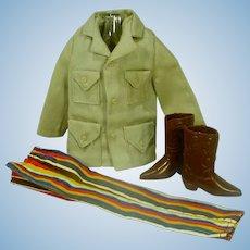 Vintage Mattel Ken Outfit, Western WInner, 1972
