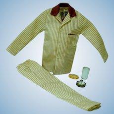 Vintage Mattel Ken Outfit, Sleeper Set, 1961, Complete!
