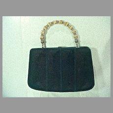 Unusual E/W Corde` Bag Circa 1940's