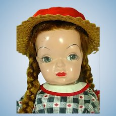 "Vintage 17"" Mary Jane Doll, 1955, All Original, Terri Lee Look-a-like"