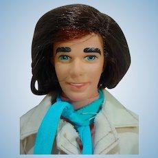 Vintage Mattel Now Look Ken, 1977, with Original Outfit