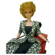 """Vintage 11 1/2"""" Debbie Pose Fashion Doll Clone, 1960's"""