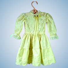 Charming Vintage Doll Party Dress, 1970's
