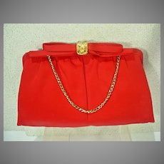 1950's Satin Evening Purse/Clutch, by After Five, Never Used