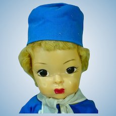 Vintage 1950's Terri Lee Jerri Lee Dutch Boy, All Original