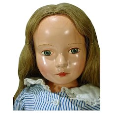 "Beautiful Effanbee Compo ""American Child"" Dewees Cochran Doll, 1939-40"