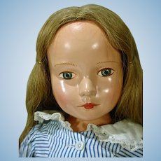 "Beautiful Effanbee Compo ""American Child"" Dewees Cochran Doll, 1939-40"